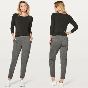 Lululemon Track Pants Casual Trousers Stretch Gray